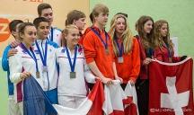 Team FRANCE- Elise ROMBA-Laura GAMBLIN-Lucas ROUSSELET-Enzo CORIGLIANO-Benjamin AUBERT