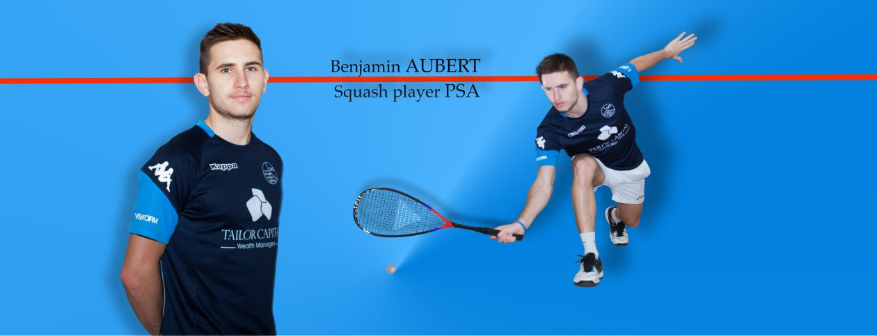 AUBERT Benjamin squash player 9 Français #90 World Ranking PSA septembre 90